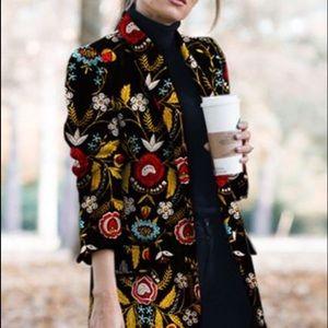 3/4 length coat, beautiful, lined